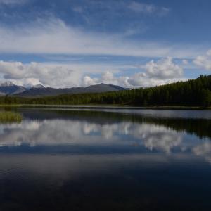 Озеро Киделю. Автор Ирина Васильевна